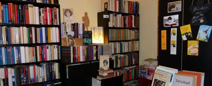 Ein kleiner Ausschnitt aus dem großen Büchersortiment, Foto: Annette Mertens